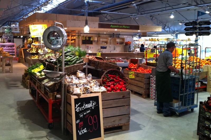 Interieurontwerp Landmarkt supermarkt Schellingwoude